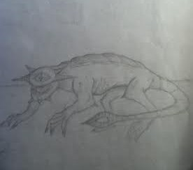 Drawing by Ryan, a close-friend